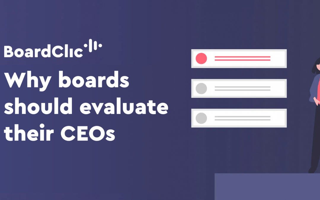 Why boards should evaluate their CEOs