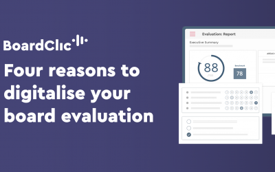 Four reasons to digitalise your board evaluation