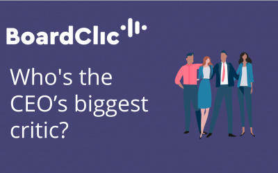 Who's the CEO's biggest critic?