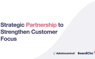Admincontrol and BoardClic Enter Strategic Partnership to Strengthen Customer Focus